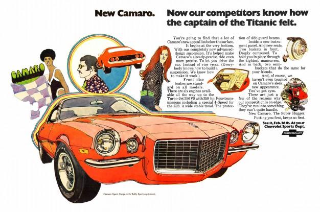 1970 Camao Ad